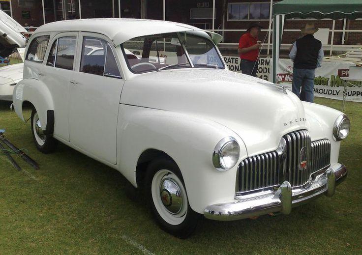 Holden FX Station Wagon. (Prototype) Melbourne, Australia.