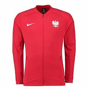 2018-2019 Poland Nike Anthem Jacket (Red)