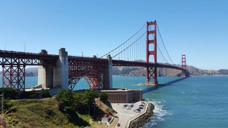 Golden Gate Bridge in San Francisco, with nice sunny weather :-)
