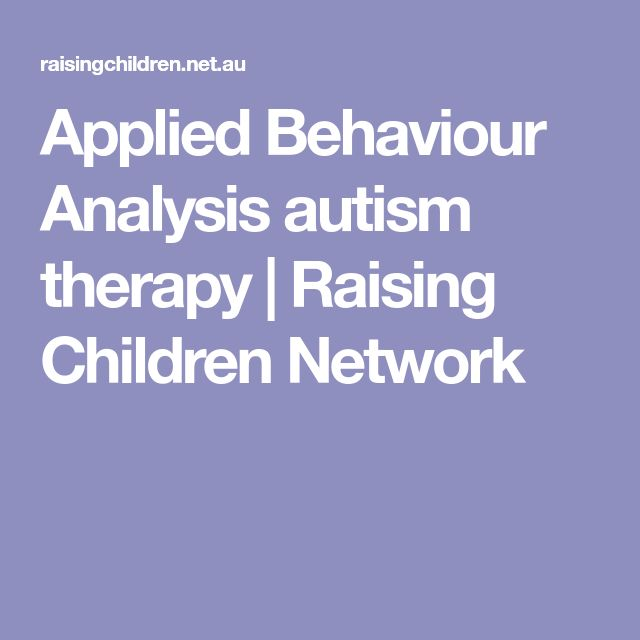 improving the skills of autistic children with applied behavior analysis The principles and methods of behavior analysis have been applied effectively in many circumstances to develop a wide range of skills in learners with and without disabilities.