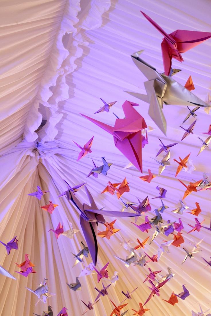 Origami Cranes II