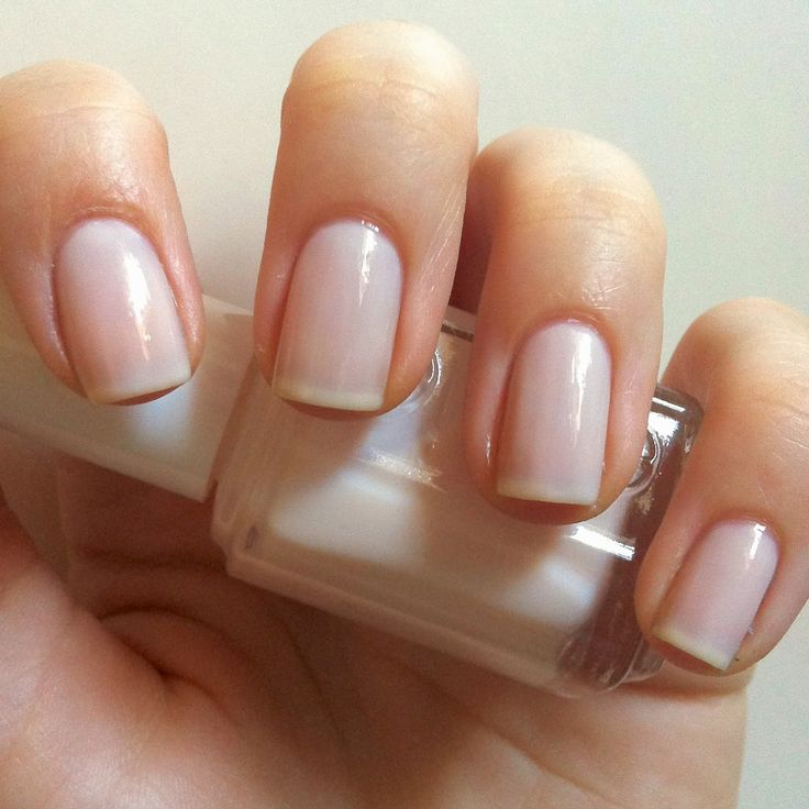 Nails Always Polished Rose Gold French Manicure Essie