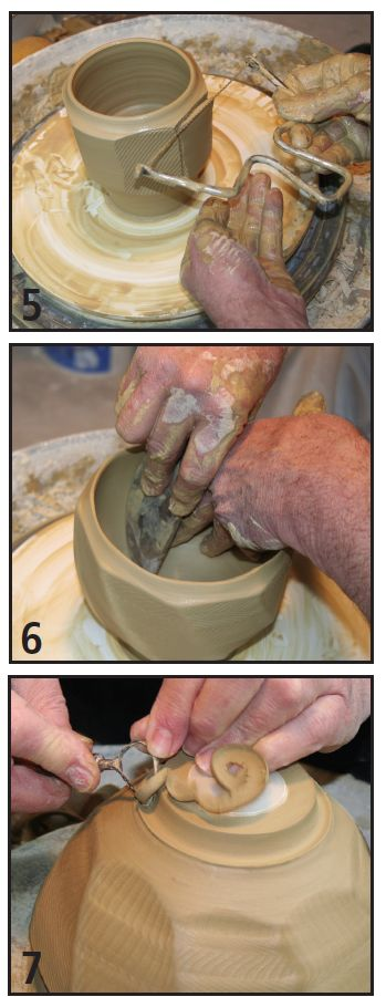 Another Facet of Faceting: Adding Pizzaz to Wheel-Thrown Pottery | Ceramic Arts Daily