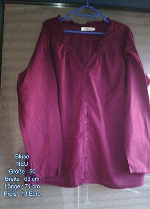 Kaufe meinen Artikel bei #Kleiderkreisel http://www.kleiderkreisel.de/damenmode/blusen/98231286-schicke-moderne-neue-lila-bluse