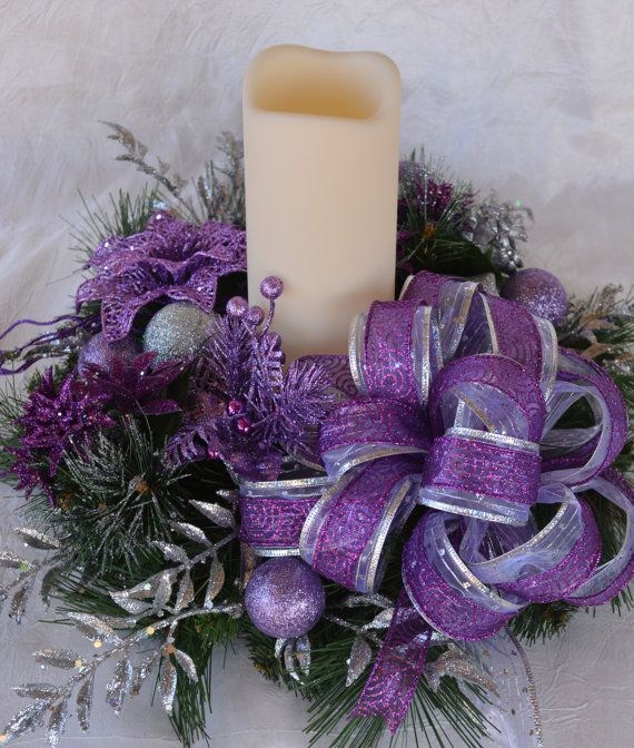 Christmas Decorations In Purple: 1000+ Ideas About Purple Christmas Decorations On
