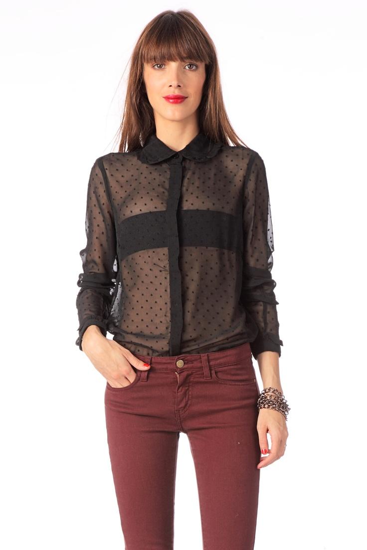 Mode Et Transparente Irrésistible Kfjcl3ut1 Chemise Vetement Femme QxthdsrC