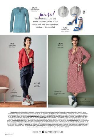 1e09812cc7e78 Каталог Impressionen весна 2019. Заказ одежды на www.catalogi.ru или по тел