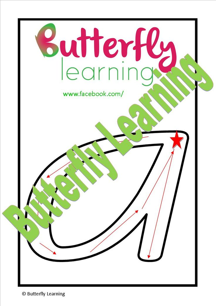 The trick to helping children learn the correct formation of upper and lower case letters is showing them the correct place to begin and the direction in which to move their pencil. Both upper and lower case are included in this set of double sided laminated cards. Our starting stars and directional arrows will allow your child to practise tracing their letters over and over again.