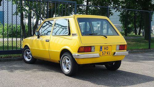 Innocenti 120 L Bertone - Yellow, giallo, jaune.