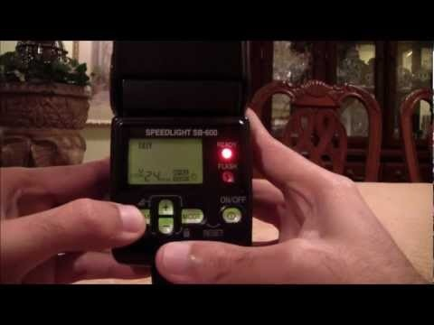 Nikon SB700 vs Nikon SB600 Basic over view and comparison of the Flash Speed Light