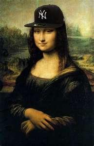 Mona bleeds Yankee blue too!!!