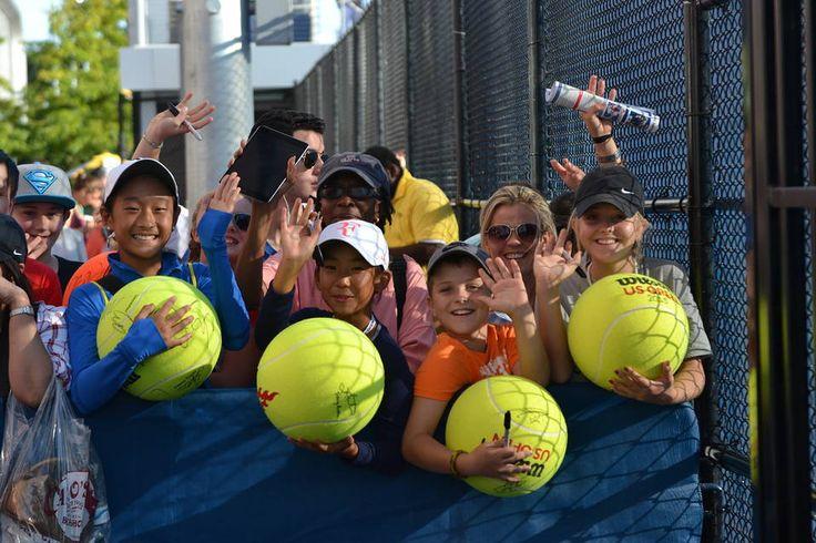 テニス全米オープン会場風景 - WSJ