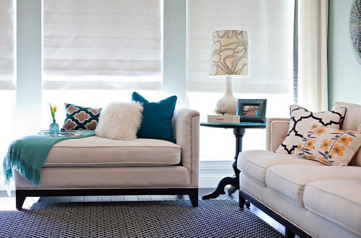 living room staging ideas | ... to add a dose of colour to your couches or beds and freshen up a room