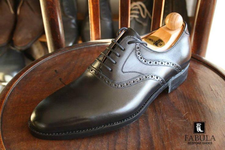 Fabula Bespoke Shoes. Unique handmade, bespoke men's shoes.  Modell:Cambridge modell