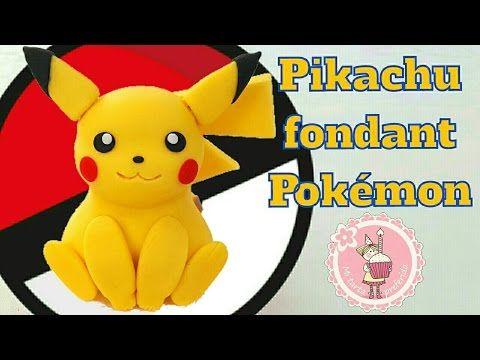 Pokemon: Charmander Cake Topper / Cómo hacer a Charmander para tortas - YouTube