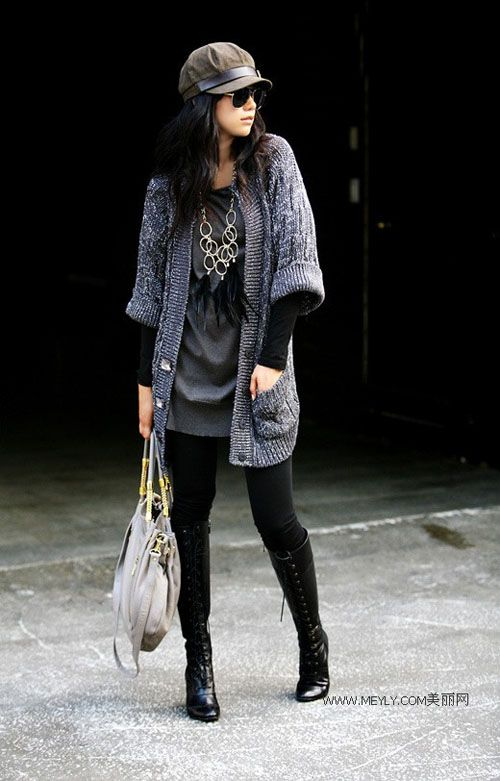 South Korean Street Fashion Glasses Early Autumn Fashion Pinterest Style Glasses And Boots