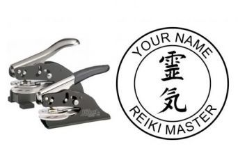 Reiki Master Embossing Seal | CAD$Notice: Undefined index: web_price in /home/dominion/public_html/embossing-seals/seals-detail.php on line 183