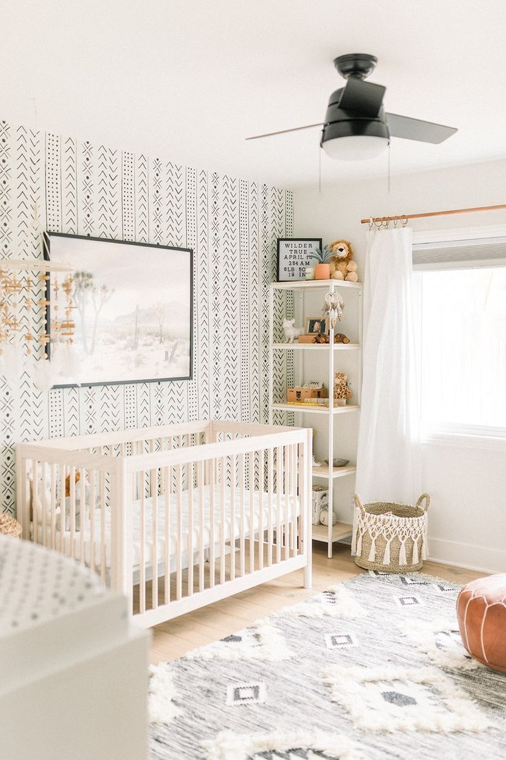 Boho Baby Boy Nursery