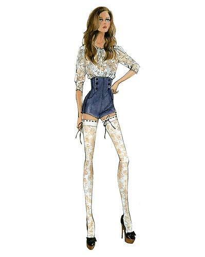 barbie robert best print sheer