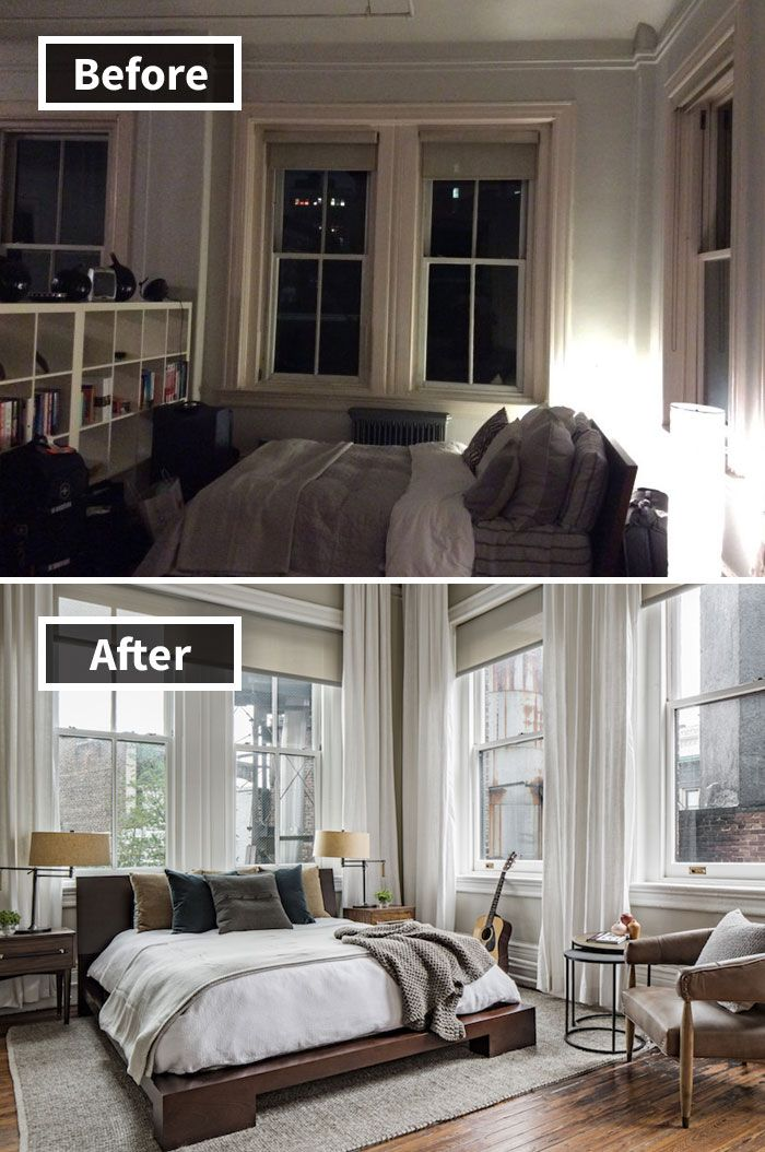 190 Rooms Before And After Makeover Deco Maison
