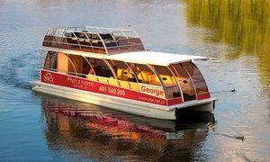 Oferta: Godzinny rejs po Wiśle statkiem Sobieski lub katamaranem George: bilet dla 2 osób za 29,99 zł i więcej opcji , w Kraków. Cena: 29,99zł