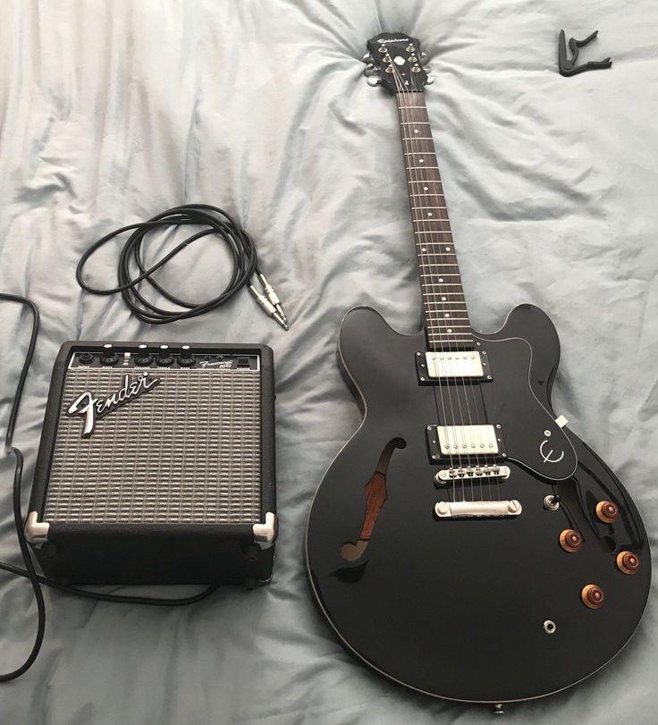 Epiphone Dot ES-335 Ebony Semi-Acoustic Guitar