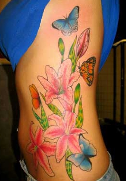 25 best ideas about flower rib tattoos on pinterest rib tattoos flower tattoos and delicate. Black Bedroom Furniture Sets. Home Design Ideas