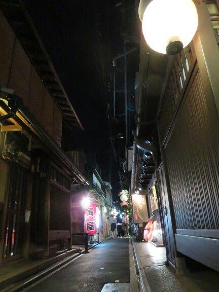 先斗町 夜景 京都