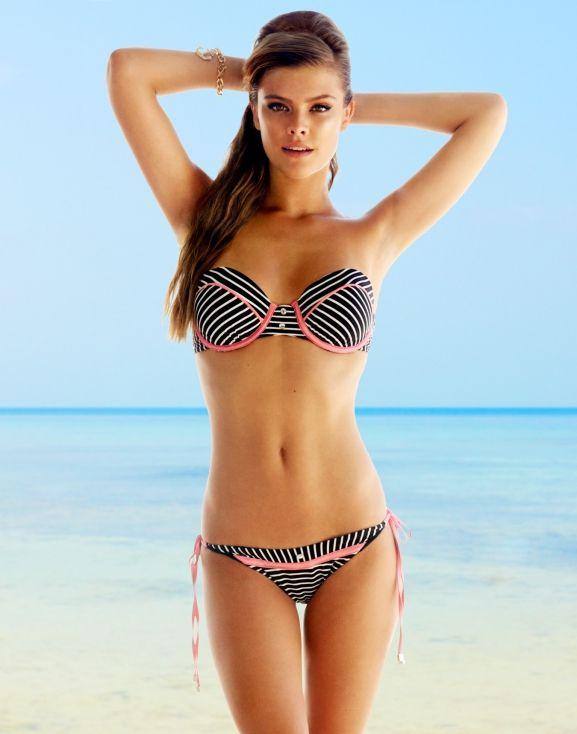 3ff858f2c11dd Nina Agdal swimwear lady lace | Nina Agdal | Bikinis, Swimwear ...