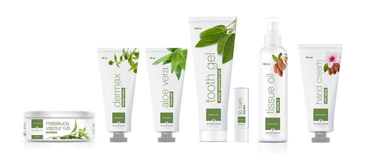 Sportron International Derma-Active Range on Behance