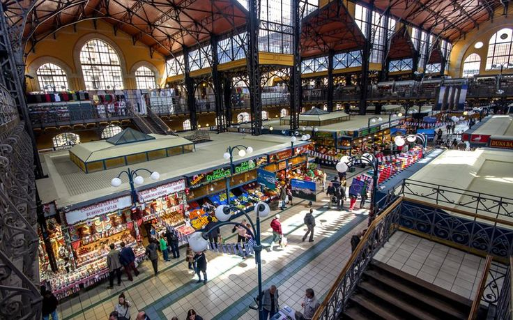 The best food markets in Europe