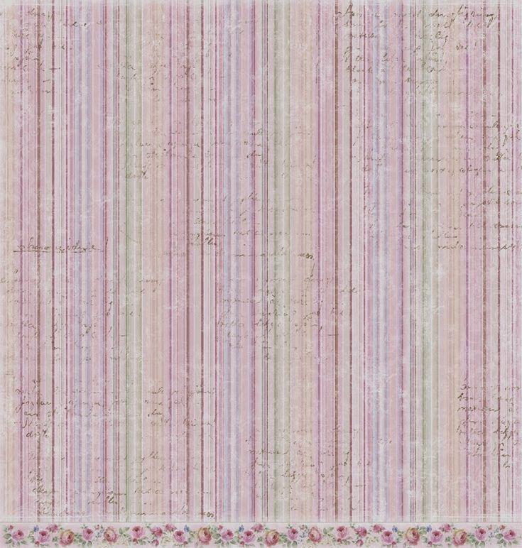 PAPIROLAS COLORIDAS: papeles shabby chic y vintage