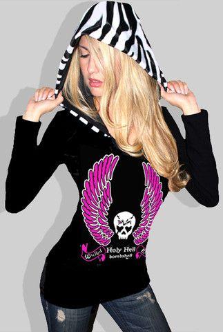 Holy Hell Bombshell Hoodie – Demi Loon