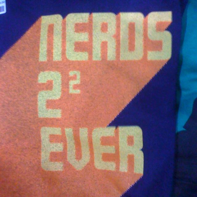 <3 the geeks!