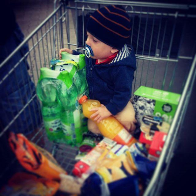 Kupiliśmy dziecko w Lidlu 😉👶#instaboy #instababy #lidl #lidlpolska #shopping #zakupy #dzieckowpromocji