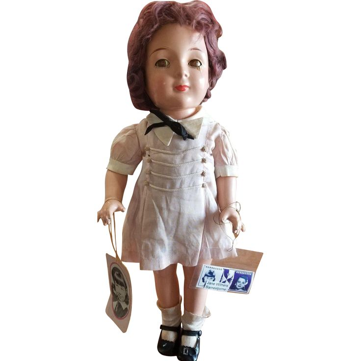 Rare 1937 Madame Alexander 19' Jane Withers Doll