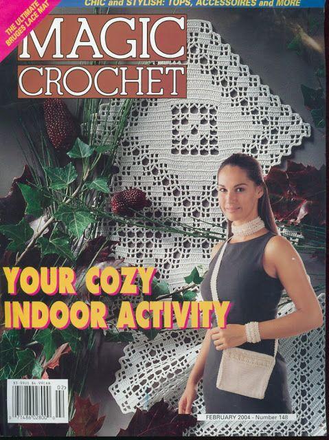 Magic crochet #148, February 2004