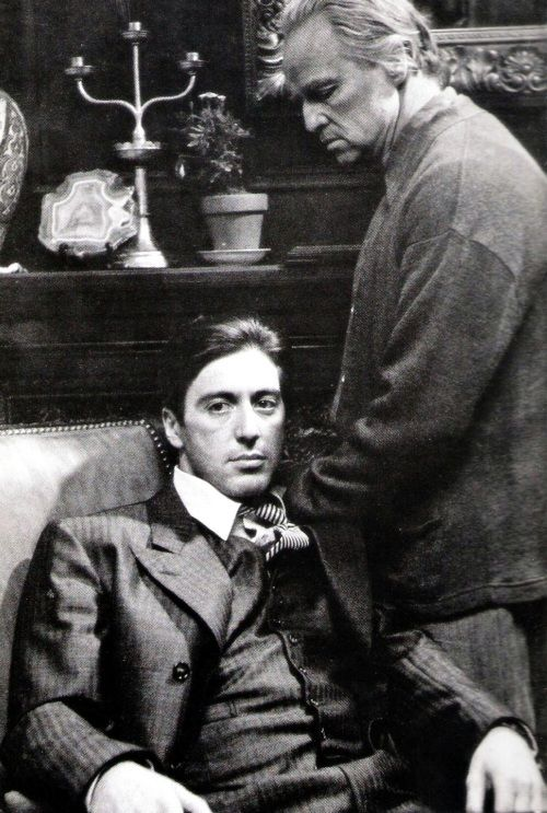 The Godfather...one of the best movies ever made.