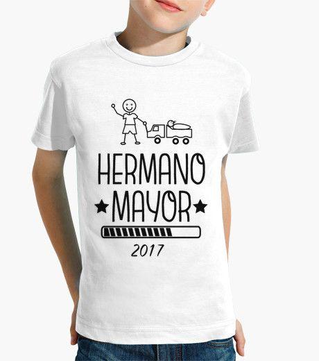 Camiseta Hermano Mayor 2017 blanca