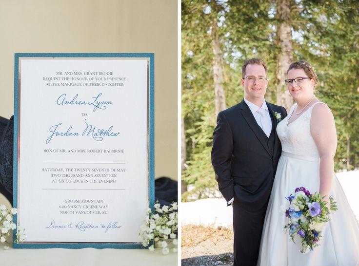 Joanna Moss Photography   Grouse Mountain Wedding #mountainwedding #grousemountain #grousemountainwedding #snow #vancouverwedding