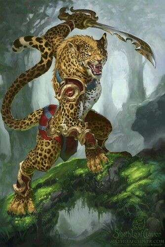 Resultado de imagen para animales antropomórficos guerreros