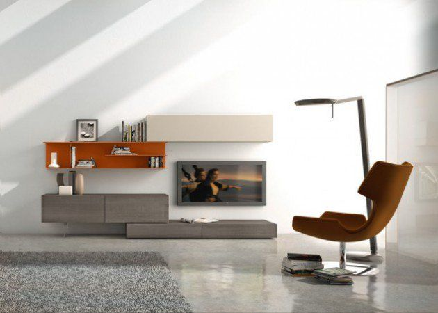 Designer Wall Units For Living Room 40 contemporary living room interior designs 18 Trendy Tv Wall Units For Your Modern Living Room