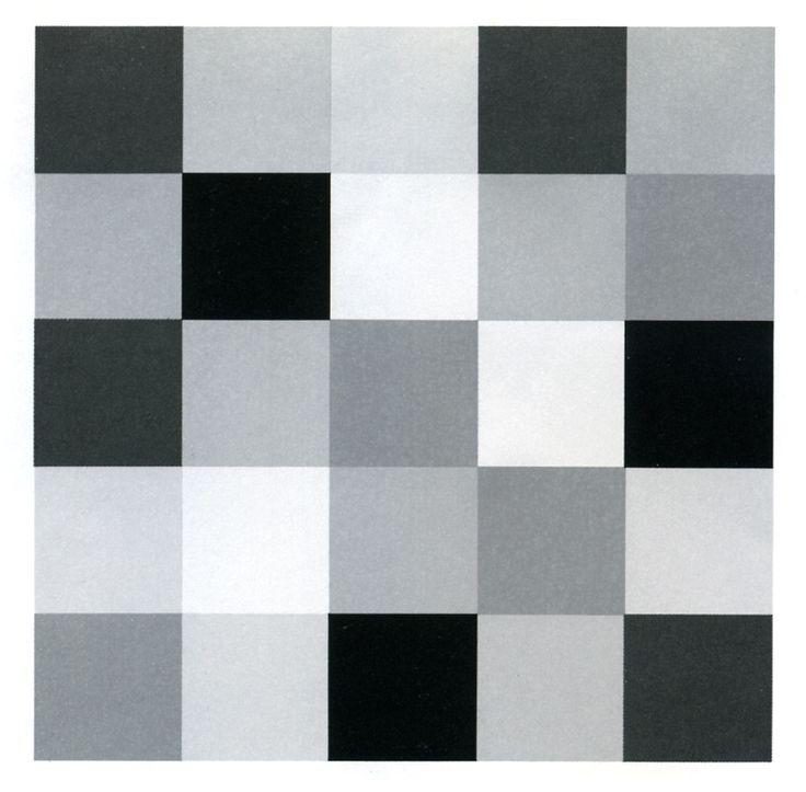Licht-donker contrast zwart-wit
