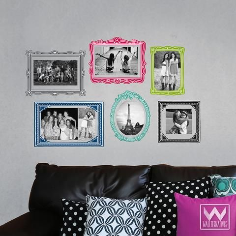 Picture Frame Wall Decals 99 best wallternatives wall decals & removable wallpaper images on
