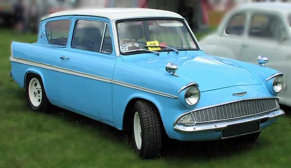 And off to school we went! Definitely My Style... Ford Anglia 1963