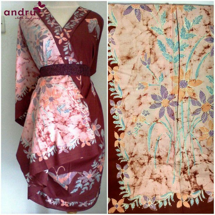 Batik tulis kontemporer, motif tumpal  Rp. 320.000