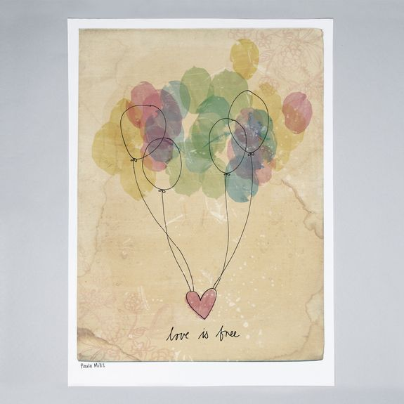 Sweet William - Free Love - Print