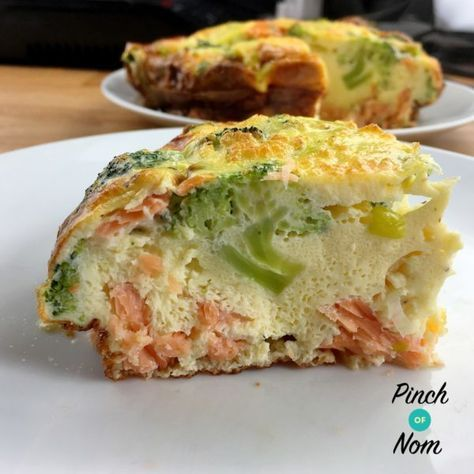 Syn Free Smoked Salmon and Broccoli Quiche | Slimming World