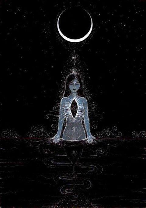 FASES DA LUA E INFLUÊNCIA NA ENERGIA SEXUAL #4 - Lua Nova (dia 6 de agosto) - A Amante Espiritual A Lua Nova corresponde, em termos do ciclo menstrual da mulher, aos dias da menstruação, excelentes...