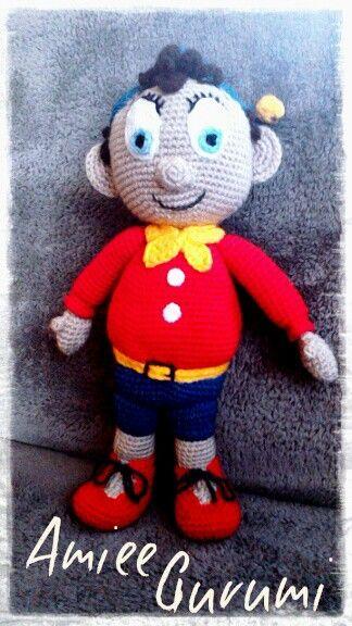 Horgolt Noddy / Crochet Noddy